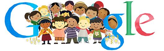 جوجل يحتفل بمناسبة عيد الطفولة Children's Day اليوم 20 نوفمبر