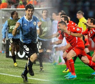 موعد مباراة الاردن والأورغواى علي ارض الارجواي اليوم الخميس 21-11-2013