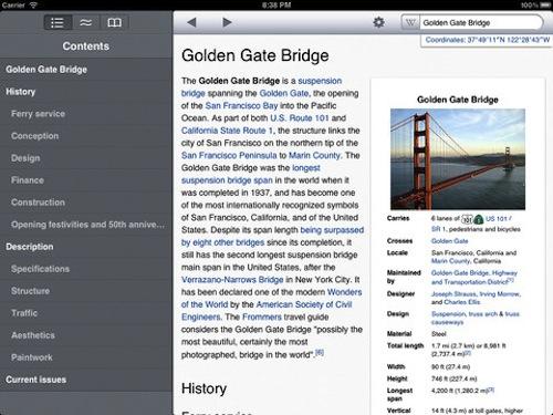 ����� ����� Wikipanion 2014 , ������� 2014 iPad
