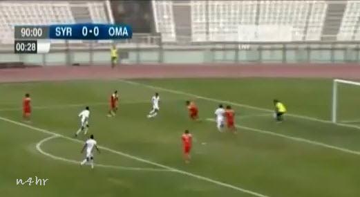 تأهل منتخب عمان لكرة القدم إلى نهائيات كأس آسيا 2015 في استراليا بفوزه على نظيره السوري 1-صفر