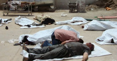 تفجير مقهى شعبى بمنطقة البياع ببغداد اليوم الخميس 21-11-2013