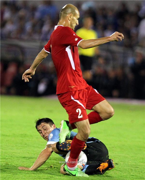 نتيجة مباراة اوروجواي و الاردن في ملحق كأس العالم اليوم الخميس 21-11-2013
