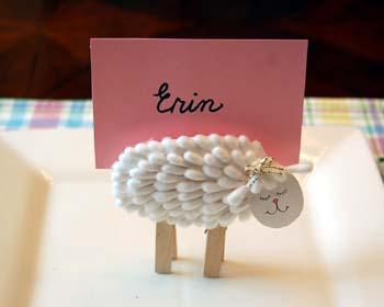 طريقة عمل خروف العيد للاطفال , طريقة صنع خروف العيد