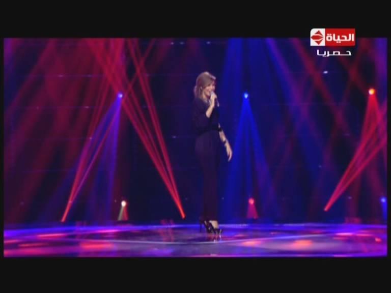 صور نانسي عجرم في برنامج ذا وينر از اليوم الجمعة 22-11-2013 , صور فستان نانسي عجرم في ذا وينر از