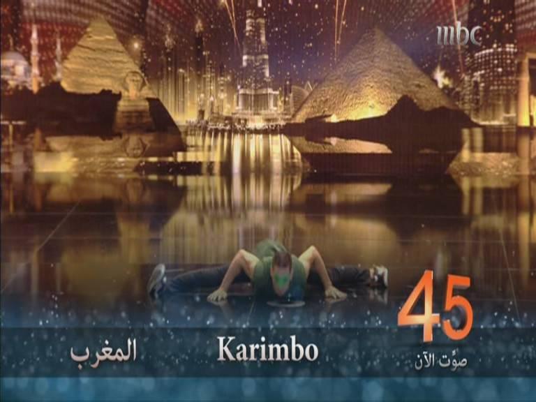 يوتيوب اداء كاريمبو - karimbo - المغرب - أرب قوت تالنت - Arabs Got Talent العروض المباشرة 23 نوفمبر