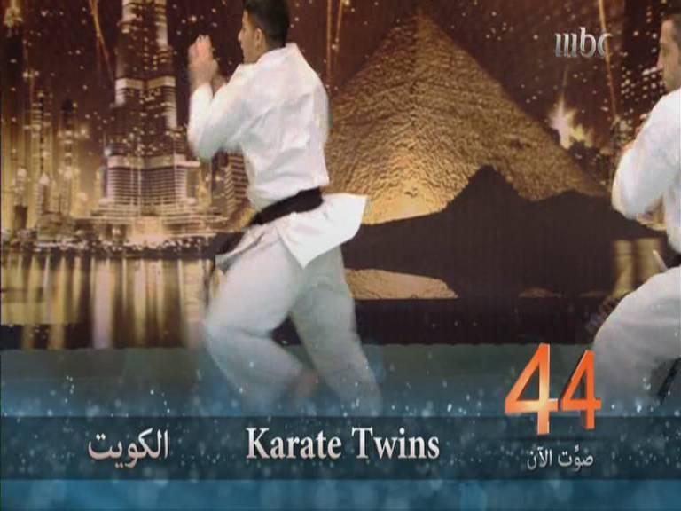 يوتيوب عرض فرقة كاراتيه توينز - Karate Twins - أرب قوت تالنت العروض المباشرة اليوم السبت 23-11-2013