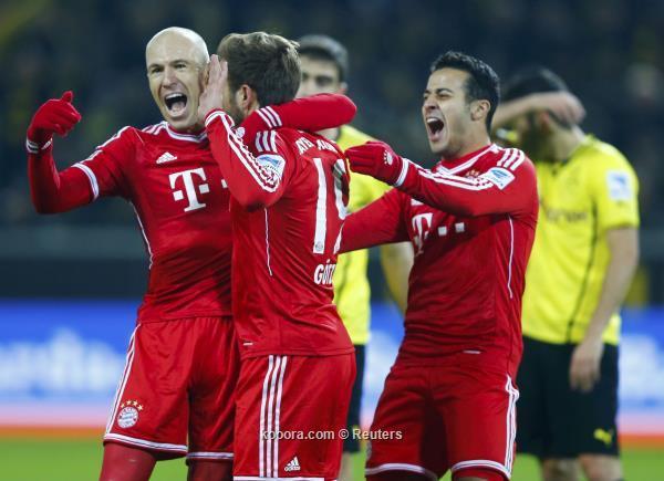 Match Borussia Dortmund and Bayern Munich 0-3 23.11.2013 Bundesliga