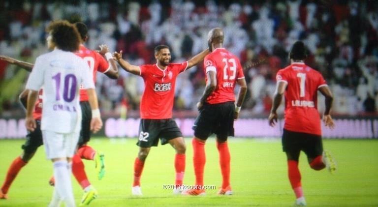نتيجة مباراة الاهلي و العين في الدوري الاماراتي اليوم الاحد 25-11-2013