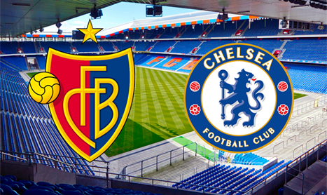Chelsea vs Basel in the Champions League Tuesday 26/11/2013