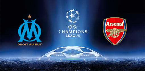 Arsenal vs Marseille in the Champions League Tuesday 26/11/2013