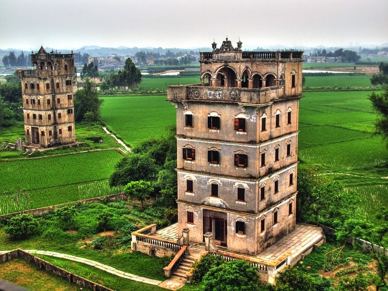رحلة الي الصين , رحلة الي برج كايبينج بالصين من اعرق المعالم السياحية