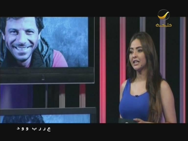 صور حسناء ابراهيم مقدمة برنامج عرب وود 2014 , صور مذيعة برنامج عرب وود علي قناة روتا خليجية 1435
