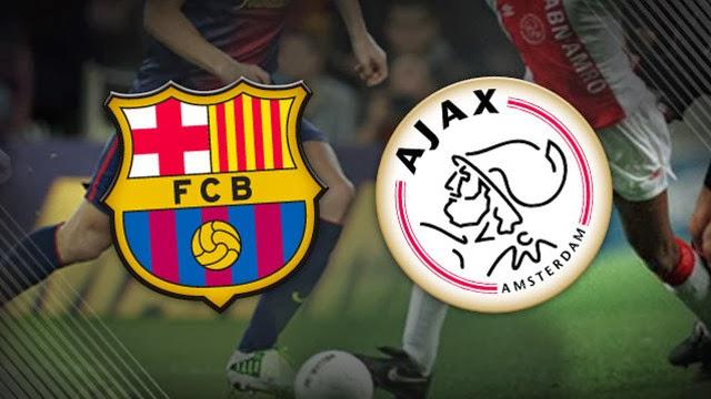 ���� ������ ������� ������ �������� Barcelona vs Ajax Amsterdam 26/11/2013