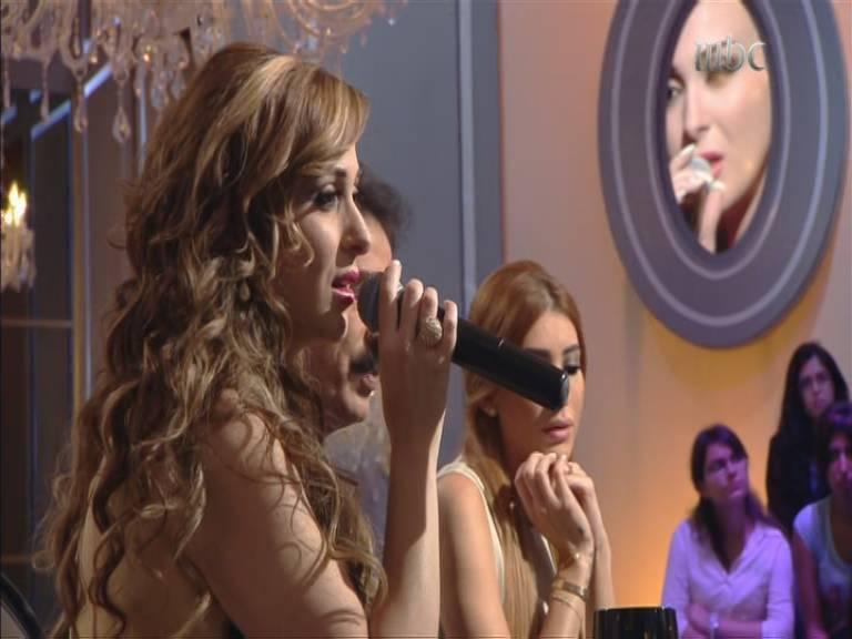صور فرح يوسف في برنامج نورت مع اروي 2013 , صور مكياج فرح يوسف في برنامج نورت مع اروي 2014