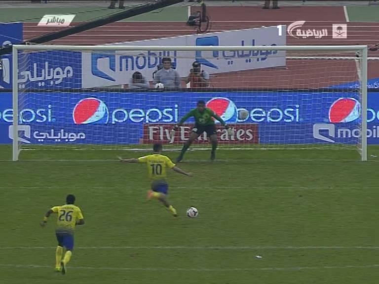 يوتيوب هدف محمد السهلاوي التاني في مرمي الهلال - ضربة جزاء 26-11-2013