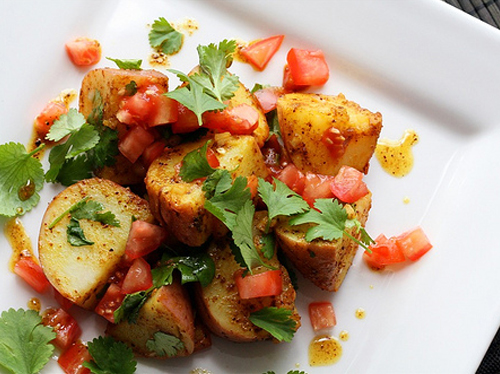 سلطة البطاطا الهندية 2014 , طريقة تحضير سلطة البطاطا الهندية
