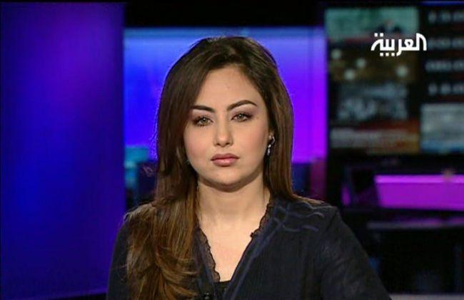 صور سهير القيسي مذيعة قناة العربية بملابس الاحرام 1435