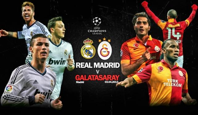 مباراة ريال مدريد و جالطة سراي في دوري ابطال اوروبا اليوم 27-11-2013