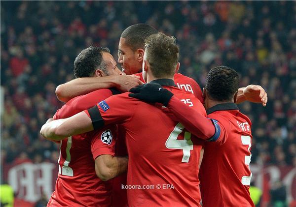 نتيجة مباراة مانشستر يونايتد و باير ليفركوزن في دوري ابطال اليوم الاربعاء 27-11-2013