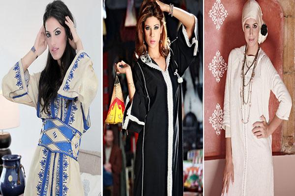 صور الجلباب المغربي, صور تصميمات جلابيلت مغربية, موديلات جلابيب مغربية 2018