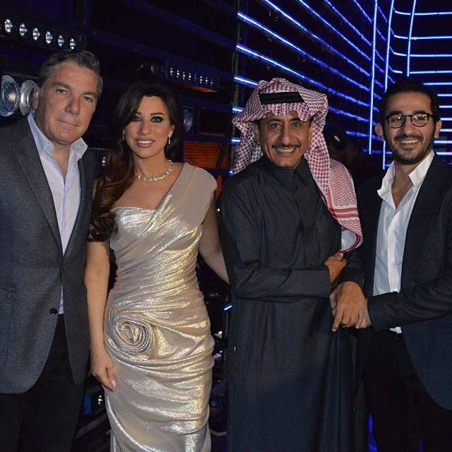 صور نجوي كرم في برنامج ارابز جوت تالنت 2014 , صور فساتين نجوي كرم في Arabs Got Talent 2014