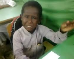 إعفاء المعلم مصور الطالب الباكي من التدريس اليوم الخميس 28-11-2013