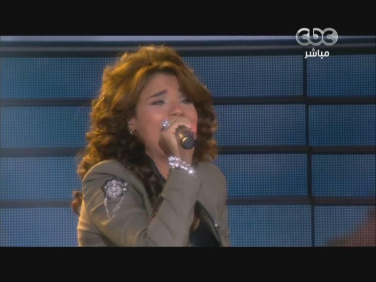 صور الفنانة المصرية أمينة الحنطور في ستار اكاديمي 9- Star Academy اليوم الخميس 28-11-2013