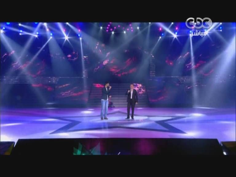 يوتيوب اغنية احساس جديد - طلع في عينيك مروان خوري و عبدالله عبدالعزيز - 9 Star Academy اليوم الخميس