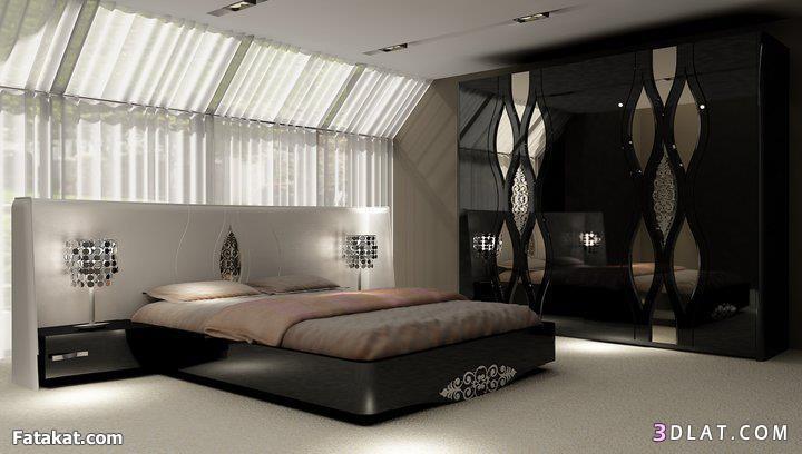 ديكورات غرف نوم جديدة 2014 , تصميمات غرف نوم للعرسان 2014