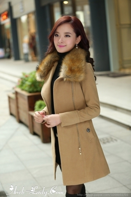 صور أزياء كورية لفصل الشتاء , ملابس من كوريا شتوية موديلات 2018