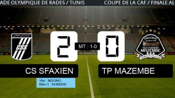 أهداف مباراة الصفاقسى التونسى ومازيمبى الكونغولى الاياب نهائي كأس الاتحاد الافريقي السبت 30-11-2013