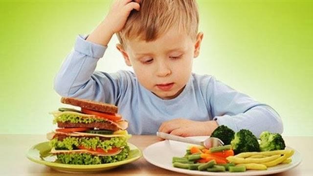 أسباب فقدان الشهية , معالجة فقدان الشهية عند الاطفال