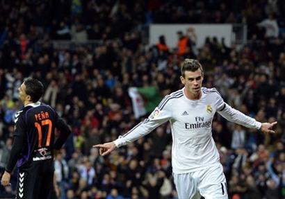 ريال مدريد يفوز برباعية نظيفة على بلد الوليد في الليجا الإسبانية 30-11-2013