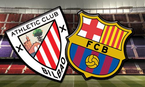 توقيت وموعد مباراة برشلونة و أتلتيك بلباو في الدوري الاسباني اليوم الاحد 1-12-2013