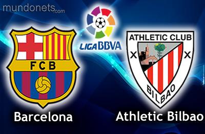 Barcelona vs Athletic Bilbao in La Liga on Sunday 1/12/2013