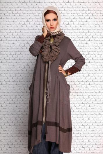 صور ازياء محجبات شتوية تركية 2019 , صور ملابس تركية للمحجبات موديلات شتاء 2019