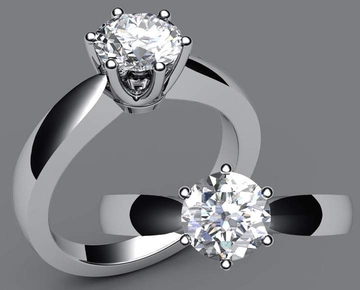 ���� ��� ������ ��������� 2016 , Rings Solitaire 2017
