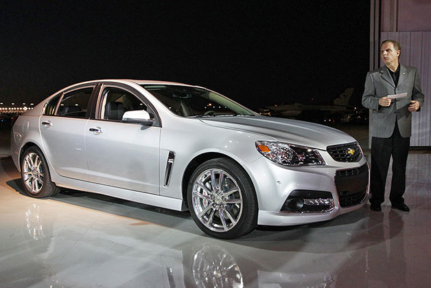 ����� , ������� , ��� �������� �� �� 2014 Chevrolet SS �� ��������