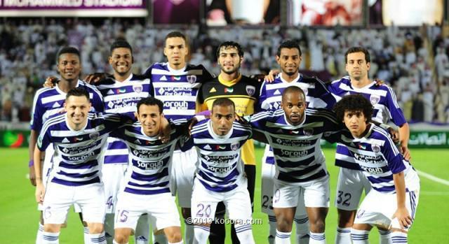 مباراة العين و بني ياس في الدوري الاماراتي اليوم الخميس 5-12-2013