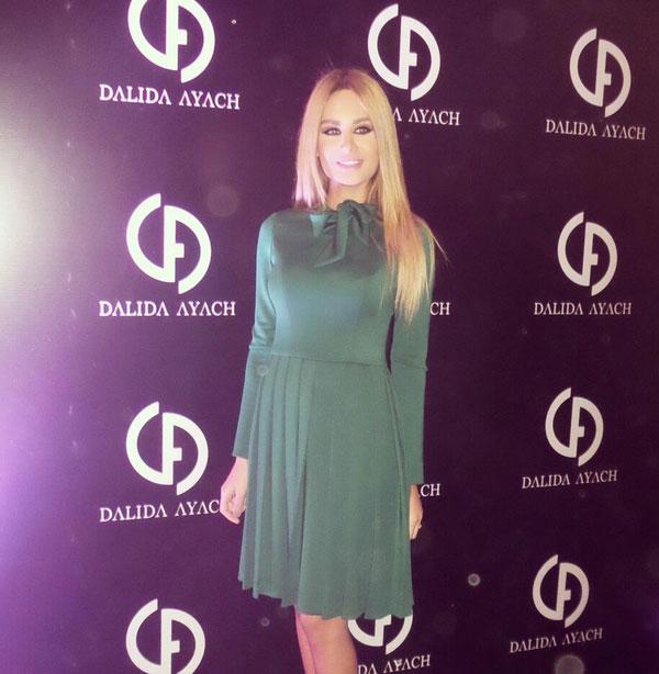 صور زوجة رامي عياش داليدا 2014 , صور مصممة الأزياء اللبنانية داليدا عيّاش 2014