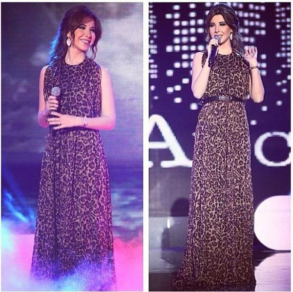 صور نانسي عجرم في حفل The Lebanese Brilliant Awards Ceremony 2014