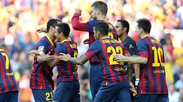 أهداف مباراة برشلونة و قرطاجنة في كأس ملك أسبانيا الدور 32 اليوم الجمعة 6-12-2013