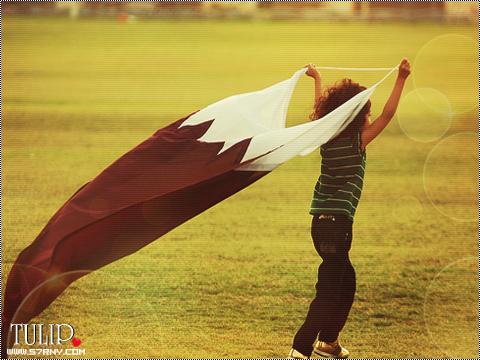 خلفيات تهاني باليوم الوطني القطري , صور و تواقيع ورمزيات اليوم الوطني القطري