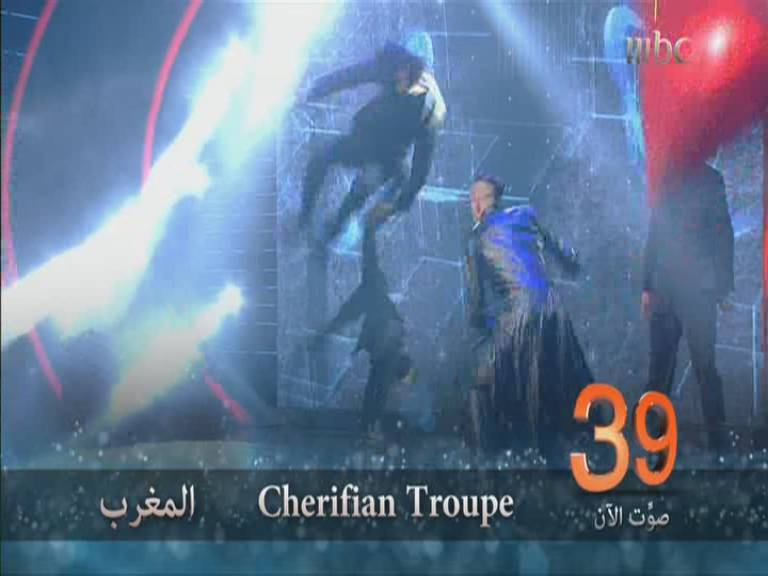 يوتيوب اداء فريق شريفيان Cherifian Troupe - الحلقة الاخيرة -أرب غوت تالنت اليوم السبت 7-12-2013