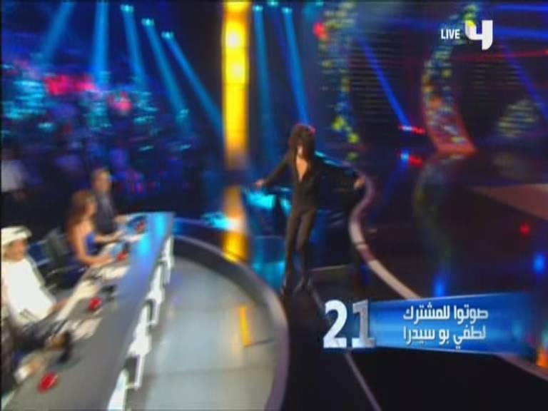 يوتيوب أداء لطفي بوسيدرا - الحلقة الاخيرة - Arabs Got Talent اليوم السبت 7-12-2013