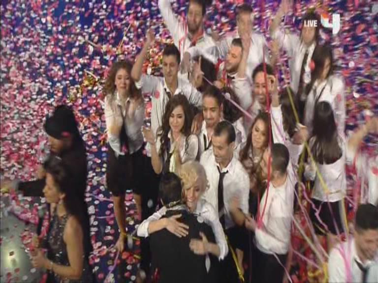 فوز فرقة سيما بلقب Arabs Got Talent الموسم الثالث اليوم السبت 7-12-2013