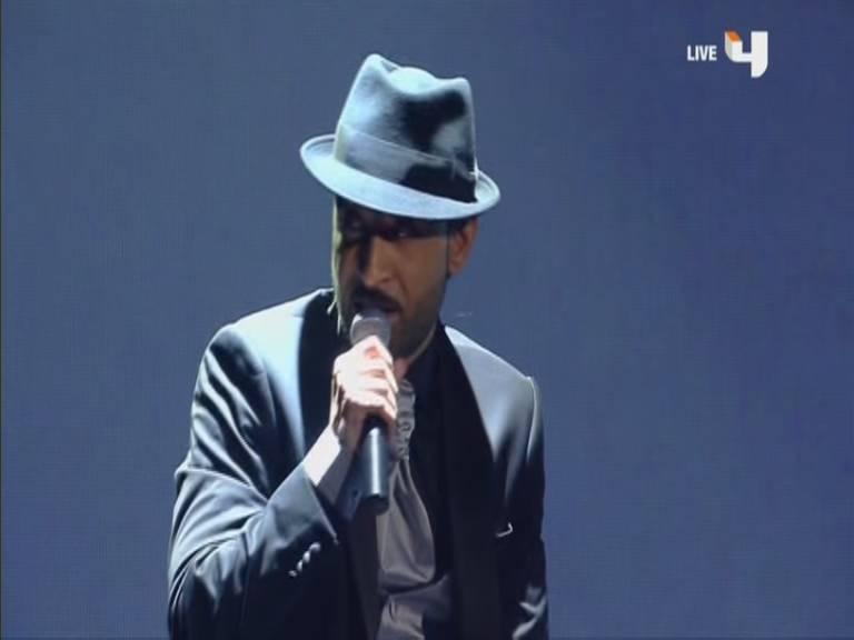 اغنية التضحية المراة العربية - قصي خضر - أرب قوت تالنت - Arabs Got Talent الحلقة الاخيرة 7-12-2013