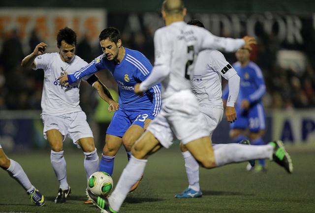أوليمبك اكساتيفا المغمور يفرض التعادل على ريال مدريد في كأس الملك