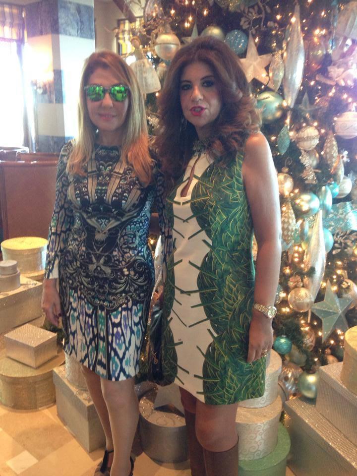 صور فستان nadia elgendy في افتتاح مهرجان دبي السنمائي 2014