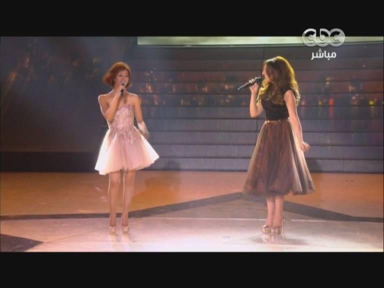 يوتيوب اغنية وحدة بتحبك - أنغام و رنا سماحة - ستار اكاديمي 9 اليوم الخميس 12-12-2013